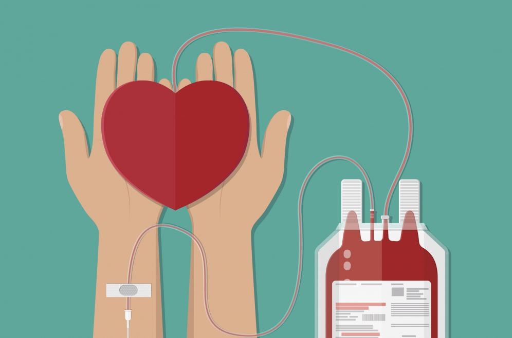HEALTHCARE INSTITUTIONS STILL PROVIDE MEDICAL CARE REQUIRING THE APPLICATION OF DONOR BLOOD AND ITS COMPONENTS.