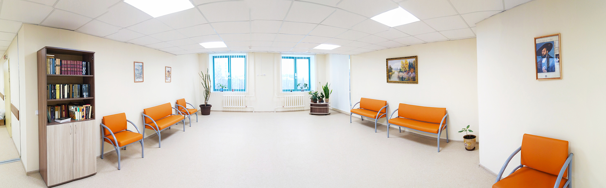 New facilities and comfortable conditions of stay in the clinic